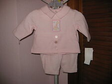 Puddles 'n' Bubbles 2 pc Pink Top and Pant Set Size 3 Months or Reborn Baby NWT
