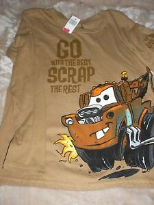 Oz The Great Gray AND//OR The Lone Ranger Brown Boys Size L Large Disney T-Shirt