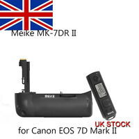 Meike MK-7DR II Battery Grip+2.4G Remote Control for Canon 7D Mark II As BG-E16
