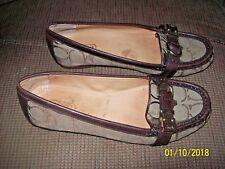 Coach Flores Signature Flat Loafer Shoes
