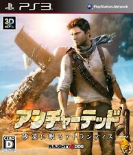 Used PS3 Uncharted 3: Drake's Deception SONY PLAYSTATION 3 JAPAN JAPANESE IMPORT