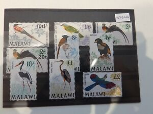 (5526Q) MALAWI BIRD STAMPS UNMOUNTED MINT CV £80
