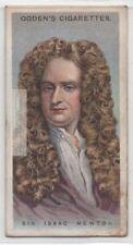 Sir Isaac Newton English Mathematician Astronomer Scientist 90+ Y/O Trade Card