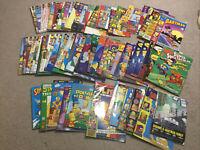 80 x Simpsons Comics Collection Bongo Vintage 1990's Bulk Lot Bart Lisa Homer