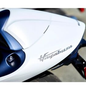 Suzuki 2022 GSX1300R Hayabusa Color Match Seat Cowl in White / Matte Blue B5N