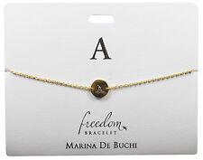 """Designer Personalizzato iniziale """"A"""" libertà Bracciale presentata su carta regalo LTR un"""