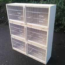 "3 X 38"" Double Budgie Breeding Cage  MULTIBUY OFFER!!"