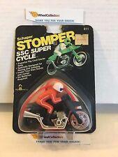 #10 Schaper Stomper SSC Super Cycle * BLACK * SEALED in Original Package * M3