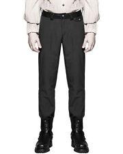 Pantaloni da uomo neri regolare in poliestere