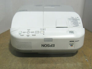 Epson PowerLite 485W 3LCD WXGA Short Throw Projector 3100 Lumens 2104 Lamp Hours