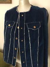 Love Moschino Women's Jeans Jackets,IT44/UK12,New