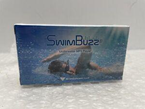 NEW SEALED SWIM BUZZ SWIMBUZZ UNDERWATER MP3 PLAYER  4gb 8 HOUR PLAY BONE CONDUC