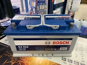 110 BOSCH Car Battery 4 Years Warranty - Next Day FREE Delivery - S4010 80Ah