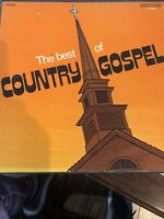 The Best of Country Gospel VINYL BOX SET VARIOUS ARTISTS COLUMBIA SPECIAL PROD