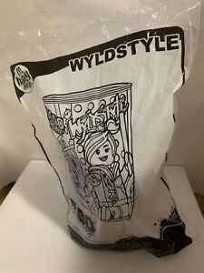 Wyldstyle The Lego Movie Tumbler 2014 McDonalds Happy Meal in Bag