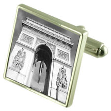 Arc De Triomphe Monument Cufflinks With Pouch