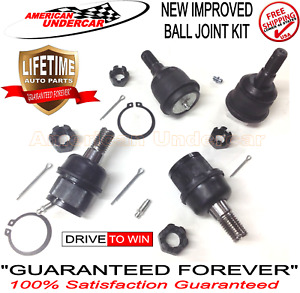Lifetime Ball Joint Kit for Dodge Ram 2500 3500 4x4 2003-2012 New Improved Set