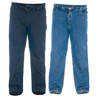 mens denim stretch comfort jeans by Rockford Duke big king size