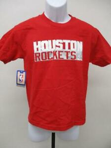 New Houston Rockets Dwight Howard Youth Size M/L Majestic Red Shirt MSRP $22