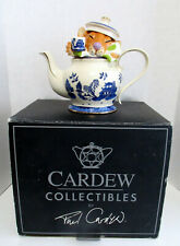 Blue Willow Cardew Dormouse Teapot