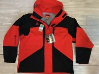 Men's Nike ACG GORE-TEX Hooded Jacket Black/Habanero Red CT2255-010 Size XL