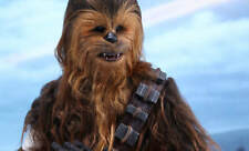 Star Wars Vii: The Force Awakens~Chewbacca~Sixth Scale Figure~Hot Toys~Mib
