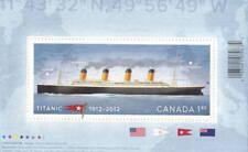 Canada 2012 Titanic Souvenir Sheet, #2535 Used