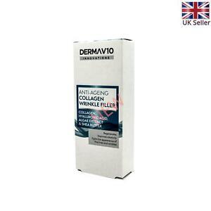 1X Derma V10 Anti-Ageing Face Cream Deep Wrinkle Collagen Filler 15Ml