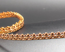"COPPER Gallery Bezel Wire ""Copper Berry"" Ribbon 99.9% Pure 5.3mm x .7mm 1-5 Feet"