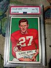 1952 Bowman Large Football Cards 20
