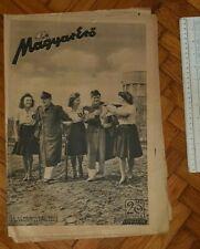 New listing 1942 WWII HUNGARY ARMY MAGAZINE NEWSPAPERS MAGYAR ERO BULGARIA CROATIA COAST