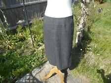 MARILYN MOORE wool skirt Suits You Size 10 Fine Italian Wool SILK LINING Pencil