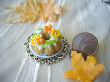 =1 FRÜHLINGSKUCHEN= Bäckerei Konditorei Puppenstube Miniatur 1:12/1:10 byHW