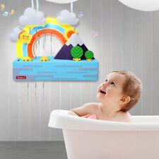 Rainbow Float Duck Toy Water Spining mit Musikspielen Geschenk für Jungen und