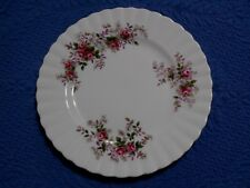 Royal Albert Lavender Rose Dessert or Pie Plate Bone China England 7.25 Inch