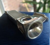 Sterling Silver Cigar Cutter h/m 2005 Birmingham  -  William Manton / Solingen