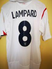Maglia Calcio Vintage Football Shirt Inghilterra 2005/2007 Lampard Umbro Jersey