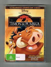 Timon & Pumbaa (18 Hilarious Stories) Dvd Disney 3-Disc Set Brand New & Sealed
