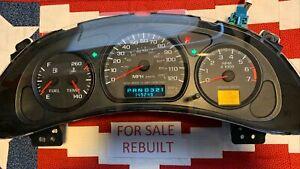 2000-05 149k Chevrolet Impala Instrument Gauge Cluster Monte Carlo 01 02 03 04