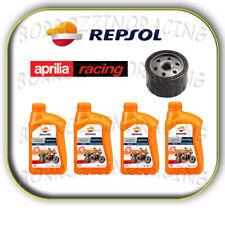 Tagliando 4 lt Olio Repsol Sintetico 10w40 Yamaha Yp125 R X-max Business ABS