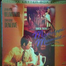 Mississippi Mermaid - Letterboxed Laserdisc NIB New Sealed free shipping for 6