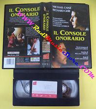 VHS film IL CONSOLE ONORARIO 2001 Michael Caine Richard Gere AVOFILM(F102)no*dvd
