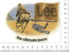 Lee The Ultimate jeans Vintage Sticker Decal