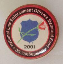 National Law Enforcement Officers Memorial Fund Washington DC Pin Badge (N4)
