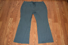 New Womens Active Life Sage Green Exercise Lounge Pockets Pants L Large $79
