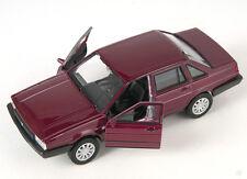 Livraison rapide vw santana 1986 Bordeaux welly modèle auto 1:34-39 NOUVEAU & OVP