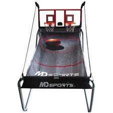 Pro Court 7 ft Arcade Basketball Game (8+ Years) + 4 Basketballs and Pump  NEW