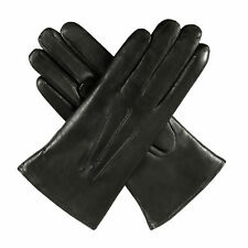 Dents Ripley Fur Lined Leather Womens Gloves - Black All Sizes