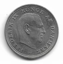 Danmark 1 Krone Coin - 1967 -  L@@K !!
