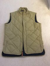 J. Crew Mens Sussex Quilted Vest Primaloft Size XS Green